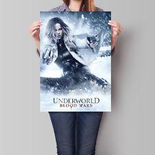 Underworld Blood Wars Movie Poster Kate Beckinsale 16.6 x 23.4 in (A2)