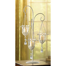 4  Hanging Cup Votive Tealight Candle Holder Table WHOLESALE WEDDING Centerpiece