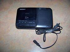 Vintage Sony Tcm-818 Portable Cassette Player/Recorder Ac/Dc Works!