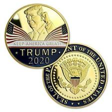 US President TRUMP 2020 Keep America Great Gold Eagle Challenge COIN Collectible