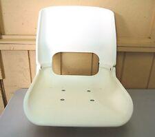 Hi-Back Molded Plastic Boat Seat without Cushion