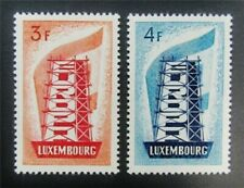 nystamps Luxembourg Stamp # 319,320 Mint Og H $31 J15y1210