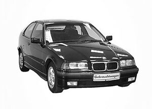 3D Tönungsfolie VORGEWÖLBT BMW 3er E36 Compact Bj 1994-2000