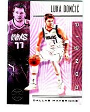 2019-20 PANINI NBA ILLUSIONS LUKA DONCIC BASKETBALL CARD # 134 Rare Mavericks BV