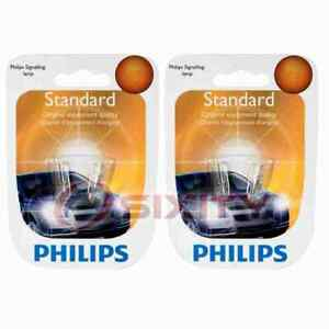 2 pc Philips Turn Signal Indicator Light Bulbs for Suzuki Esteem Samurai bh