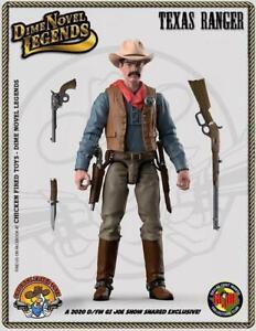 "Dime Novel Legends 1:18 scale (4"") old west action figure Texas Ranger"