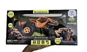 Brookstone Off-Road Rocker High Speed Multi Function R/C Vehicle **NEW**