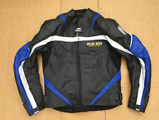 "ARLEN NESS Mens Leather Motorcycle / Motorbike Jacket  UK 38"" Chest (H18)"