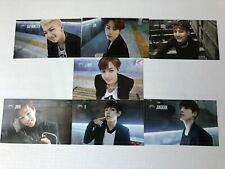 BTS DARK & WILD OFFICIAL PHOTOCARD  SET OF 7 complete BANGTAN CARD