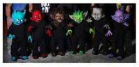 Set of 6 Monster Gang Props Wired Bendable Decor Haunted House  IN STOCK 2020