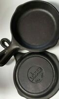 Vintage Lodge Cast Iron Skillet Pan 6 1/2 Inch USA 3SK