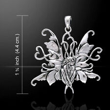 Amy Brown Blue Fairy .925 Sterling Silver Pendant by Peter Stone