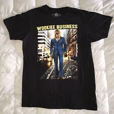 "Star Wars T-Shirt ""Wookiee Business"" Chewbacca in Suit, American Rag, Med, VGC"