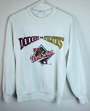 Vintage Rare 1988 WORLD SERIES Oakland A'S Vs Los Angeles Dodgers Sweater Size L
