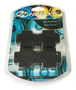 Heelys Original Wheeled Shoes Double Wheeled Heel Plugs, Black