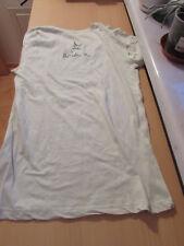 Simply Red Mick Hucknall T-Shirt Original Unterschrift hellgrün mint RAR  NEU
