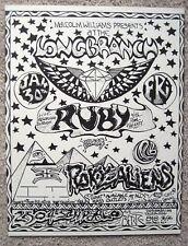 Roky Erickson & The Aliens 13Th Floor Elevators Ccr Longbranch Mini Poster