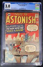 Tales to Astonish #42 CGC 3.0 4/63 2109847007 - 1st app. & origin of The Voice