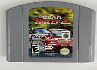 Top Gear Rally 2 (Nintendo 64, 1999) Tested - Authentic -N64 Free Shipping