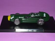 Rare 1/43 Vanwall VW57 1957 Sterling Moss Editore SOL90 Barcelona Spain