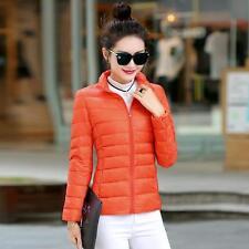 Womens Duck Down Puffer Jacket Coat Ultralight Outdoor Packable New XW