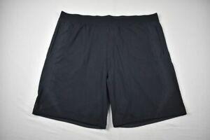 Under Armour Shorts Men's Black HeatGear NEW 3XL