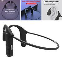 Casque sans fil étanche à conduction osseuse Bluetooth avec micro
