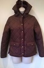 Jack Wills Quilted hooded Coat Women's Size 8