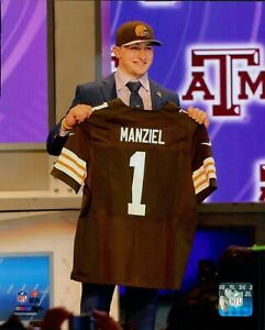 Johnny Manziel Cleveland Browns NFL Licensed Unsigned Matte 8x10 Photo A