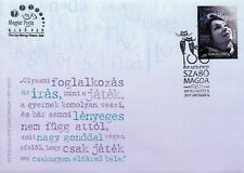 Hungary 2017 FDC Magda Szabo 100th Birth Ann 1v Cover Writers Literature Stamps