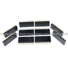 20PCS 8 Pin 8P 2.54mm Single Row Female Straight Header Pin Strip