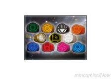 DC Promo Ring 11 PC Set Flash Legion Green Red Blue Orange Red Yellow + Lantern