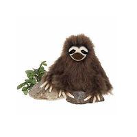 "Plush Stuffed Animal Sloth Toy - Fiesta 7"" Sitting 3 Toed Sloth for Boys Girls"