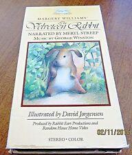 The Velveteen Rabbit - Rabbit Ears (VHS 1985) Closed Caption Meryl Streep - VG