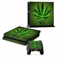 New Vinyl Skin Sticker For PS4 Playstation 4Console+Controller body Cover Decal
