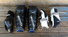 Lot of Hockey Pads, Koho Leg Pads, CCM Gloves & 1 Cooper Elbow Pad