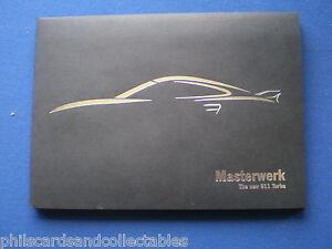 Porsche Turbo 911 ( 997 )Masterwerk Photo's  Sales Brochure - 2007