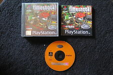 PS1 : TIMESHOCK ! - Completo! Il flipper per Playstation ! Compatibile PS2 e PS3