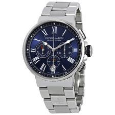 Ulysse Nardin Marine Blue Dial Mens Automatic Watch 1533-150-7M/43