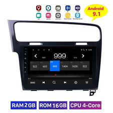 10.1 Android 9.1 Car Radio for VW Golf 7 MK7 Auto Stereo GPS Navi Headunit