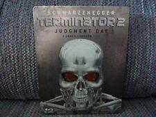 TERMINATOR 2: JUDGMENT DAY (1991) REGION FREE Blu-Ray + STEELBOOOK CASE