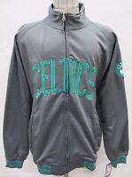 Boston Celtics NBA Men's Big & Tall Full-Zip Warm-Up Track Jacket