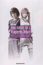 Final Fantasy XIII-2 Fragments Before Japanese Novel PS3 Game Book Japan