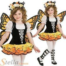 filles Monarch Papillon Animal Nature fée costume déguisement