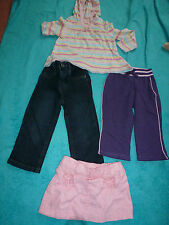 BABY GIRLS  CLOTHES BUNDLE  6 - 12 MONTHS - MOTHERCARE JEANS  CHEROKEE SKIRT