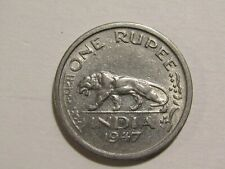 British India 1947-B 1 Rupee Coin