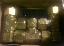 Parker Hannifin Cpi 10-10-10 Jbz-Bbrass Union Tee Brand New Sealed Box Of 3!