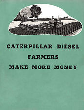 Caterpillar Diesel Farmers Make Money Booklet 1940s