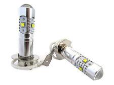 A2ZWORLD LAMPADA LED H3 PK22S 30W 12V CON 6 LED CREE DA 5W SUPER POTENTE E BIANC