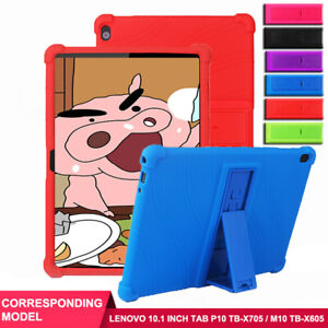 """For Lenovo Tab P10 TB-X705 Tab M10 TB-X605 10.1"""" Tablet Stand Drop Protect Case"""